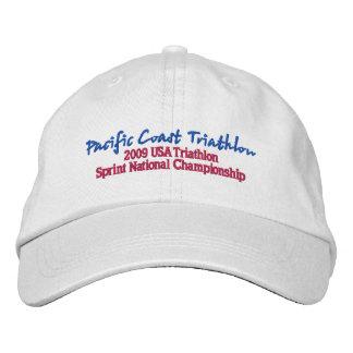 Casquette Brodée Triathlon de Côte Pacifique