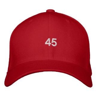 Casquette Brodée Trump le quarante-cinquième Président Hat