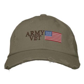 Casquette Brodée Vétérinaire d'armée avec les militaires patriotes