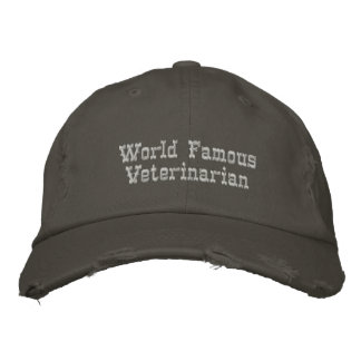 Casquette Brodée Vétérinaire de renommée mondiale