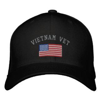 Casquette Brodée Vétérinaire du Vietnam avec des militaires de