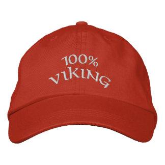 Casquette Brodée Viking 100%
