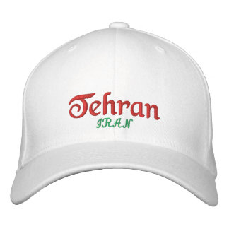 Casquette Brodée Ville Iran de Téhéran
