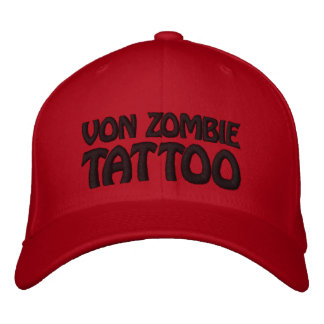 Casquette Brodée Von Zombie Tattoo 001HH