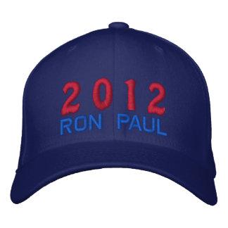 Casquette Brodée Vote Ron Paul pour le président élection 2012