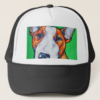 Casquette Bull-terrier anglais rouge/blanc