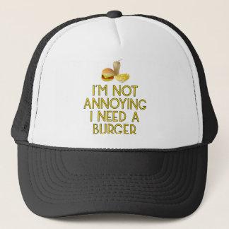 Casquette Burger restauration rapide BBQ Barbecue
