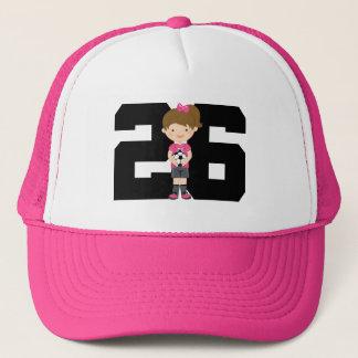 Casquette Cadeau du numéro 26 de Jersey de football (filles)