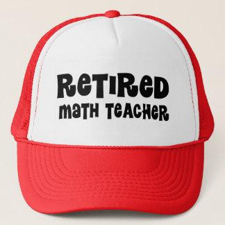 Casquette Cadeau retiré de professeur de maths