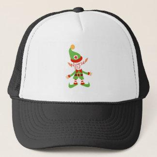 Casquette Cadeaux de soins de Noël d'Elf d'infirmière
