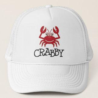Casquette cadeaux et habillement désagréables de crabe