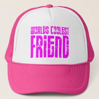Casquette Cadeaux pour l'ami le plus frais des mondes roses
