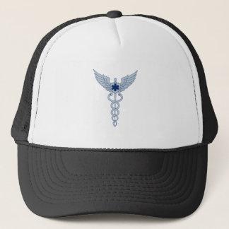 Casquette Caducée avec l'icône d'étoile des ailes EMT de
