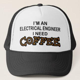 Casquette Café du besoin - ingénieur électrique