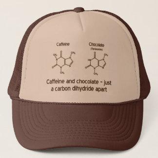Casquette Caféine et chocolat