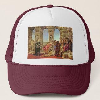 Casquette Calomnie d'Apelles par Botticelli Sandro