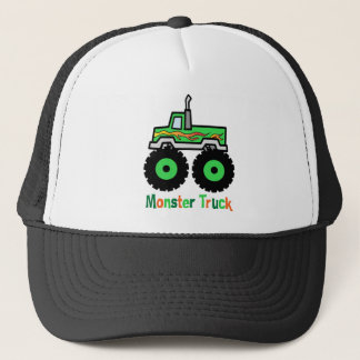 Casquette Camion de monstre vert