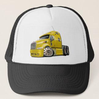 Casquette Camion jaune de Peterbilt