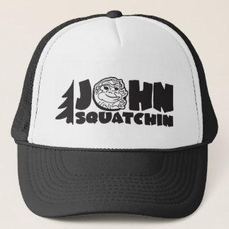 Casquette camionneur de squatchin de John