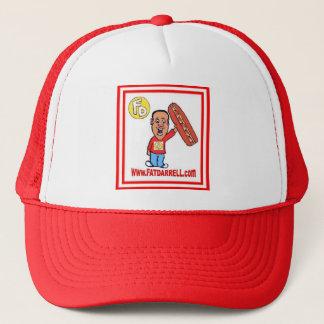 Casquette Camionneur Hat-FD1 (rouge)