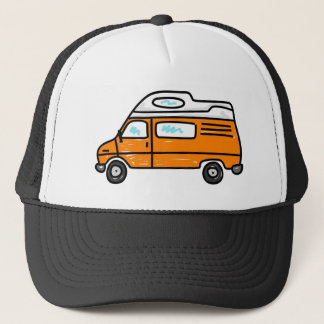 Casquette Campervan orange