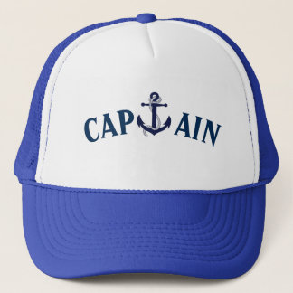 CASQUETTE CAPITAINE ANCHOR SAILING HAT