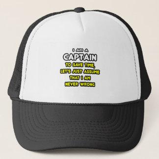 Casquette Capitaine drôle T-Shirts et cadeaux