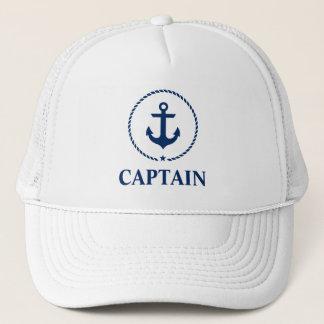 Casquette Capitaine nautique Anchor Rope