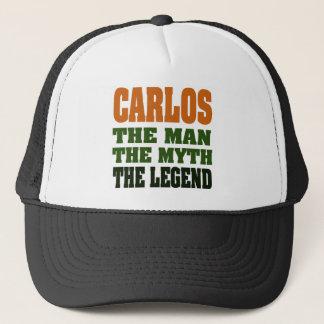 Casquette Carlos - l'homme, le mythe, la légende