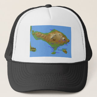 Casquette Carte de Bali Holliday
