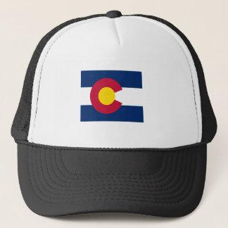 Casquette Carte de drapeau du Colorado