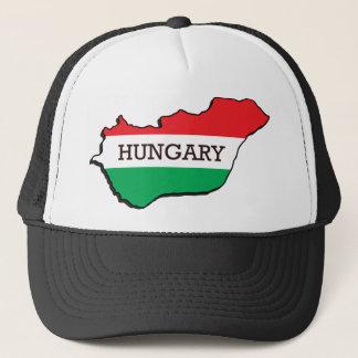 Casquette Carte de la Hongrie
