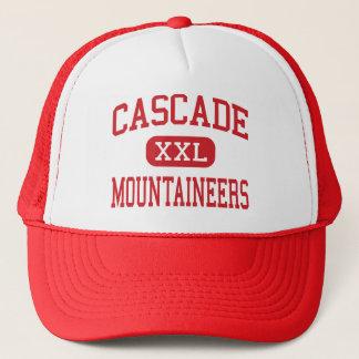 Casquette Cascade - alpinistes - milieu - courbure Orégon