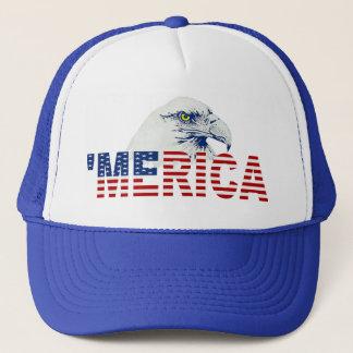 Casquette 'Casquette de drapeau de MERICA Eagle chauve