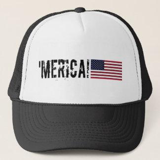Casquette 'Casquette de drapeau de Merica Etats-Unis