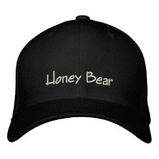 Casquette/casquette drôles d'ours de miel casquette brodée