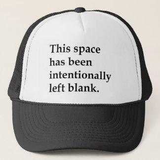 Casquette Ce blanc de l'espace
