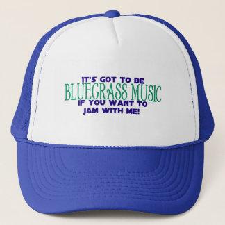 Casquette Ce doit être musique de Bluegrass