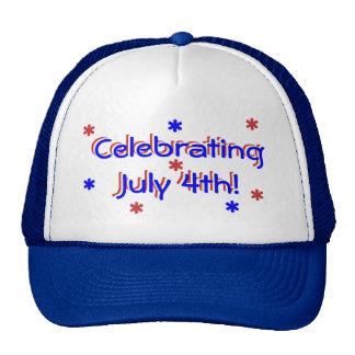 Casquette - célébration du 4 juillet casquette trucker