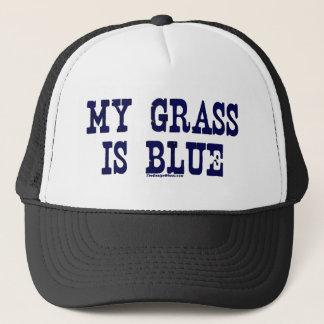 Casquette Célèbre mon herbe est bleue