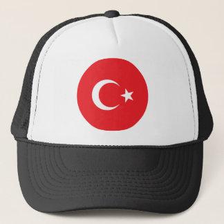 Casquette Cercle turc de drapeau
