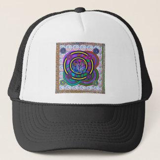 Casquette Cercles colorés ronds de cercle de danse