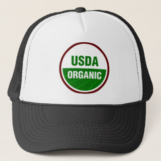 Casquette Certificat organique de l'USDA
