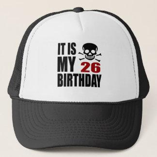 Casquette C'est mes 26 conceptions d'anniversaire