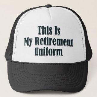 Casquette C'est mon uniforme de retraite