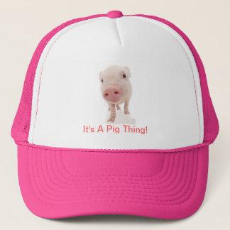 Casquette C'est une chose de porc