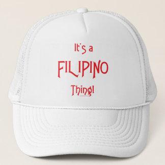 Casquette C'est une chose philippine !
