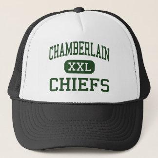 Casquette Chamberlain - chefs - lycée - Tampa la Floride