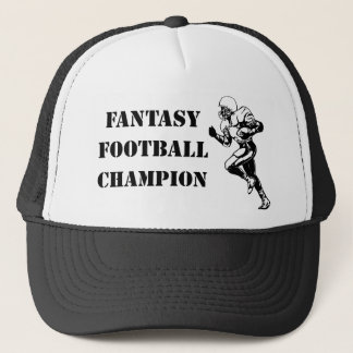 Casquette Champion 2 du football d'imaginaire