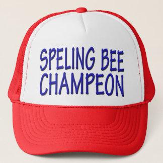 Casquette Champion de concours d'orthographe
